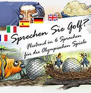 OnlineGolf News: Sprechen Sie Golf? Fließend in 6 Sprachen für die Olympischen Spiele