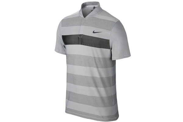 Nike Golf MM Fly Knit Stripe Alpha Poloshirt