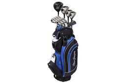 MacGregor DCT Stahl-Paketset mit Golfwagentasche