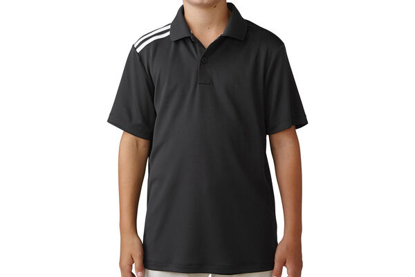 adidas Golf Junior climacool 3-Stripes Poloshirt