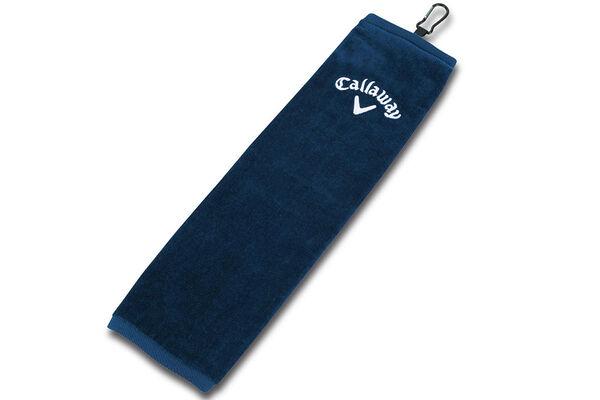 Callaway Tri Fold Towel Cotton