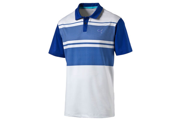 PUMA Golf Patternblock Junior Poloshirt