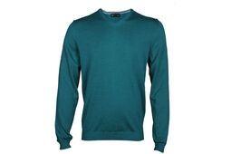 Palm Grove Plain V Neck SWEATSHIRT