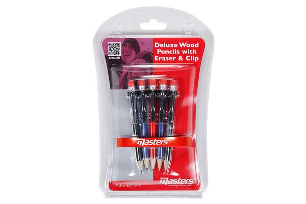 Pencils Deluxe Wood Masters(5)
