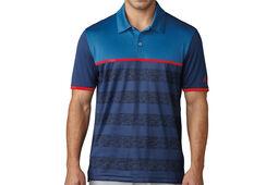 adidas Golf climacool 2D Stripe Poloshirt