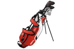 Wilson Deep Red Junior Paketset Alter 12 bis 14