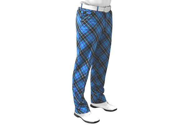 Ryl and Awe Trouser Plaid S6