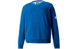 FootJoy Lambswool V Neck Lammwoll-Sweatshirt