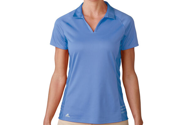 adidas Golf Tour climachill 3-Stripes Poloshirt Für Damen
