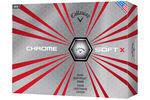 Callaway Golf Chrome Soft X Golfbälle 12 Stück 2017