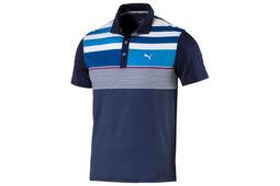 PUMA Golf Junior Road Map Asym Poloshirt