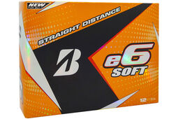Bridgestone Golf e6 Soft Golfbälle 12 Stück