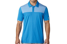 adidas Golf climachill Heather Block Poloshirt