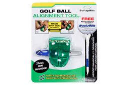 Softspikes Golfball-Ausrichtungswerkzeug
