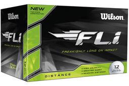 Wilson FLi Golfbälle 12 Stück