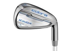 Cobra Golf King F6 Silber Graphiteisen für Damen