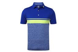 FootJoy Stretch Lisle Colour Block Poloshirt
