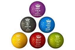 PGA Tour Novelty 6 Golfbälle (6 Stück)
