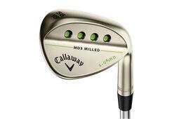 Callaway Golf MD 3 gefrästen Gold-Nickel-Wedge