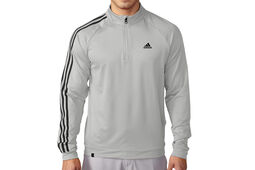 adidas Golf 3 Stripes 1/4 Zip-Sweatshirt
