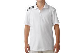 adidas Golf Junior climacool 3-Stripes Poloshirt