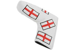 Masters Golf HeadKase Flag Putter Cover England