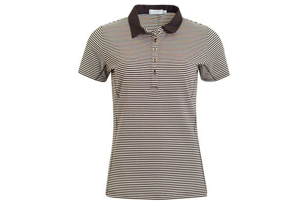 Green Lamb Courtney Mini Stripe Poloshirt Für Damen
