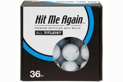 Titleist Challenge Premium recycelte Golfbälle 36 Stück