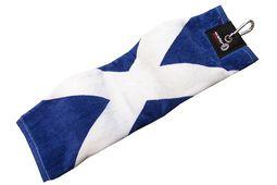 Asbri Golf Tri-Fold Patriotic Handtuch