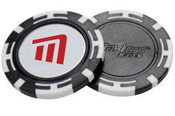 Masters Golf Poker Chip mit magnetischem Ballmarker