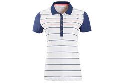 Calvin Klein Striped Poloshirt für Damen