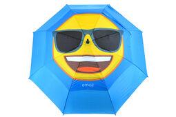 emoji Cool Face Double Canopy Regenschirm