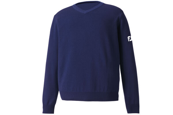 FootJoy Lambswool V Neck Lammwoll-Sweatshirt