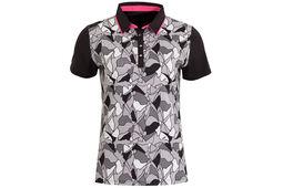 Calvin Klein Patterned Poloshirt Für Damen