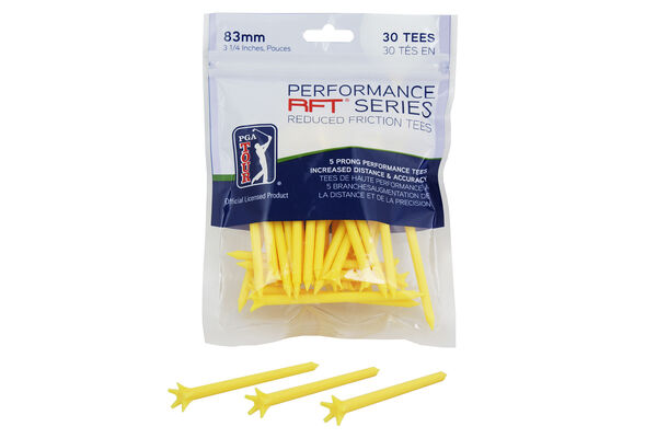 PGA Tour Performance RFT Series Tees, Set mit 30 Stück