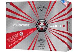 Callaway Golf Chrome Soft X Truvis Golfbälle 12 Stück 2017