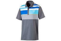 PUMA Golf Road Map Asym Poloshirt