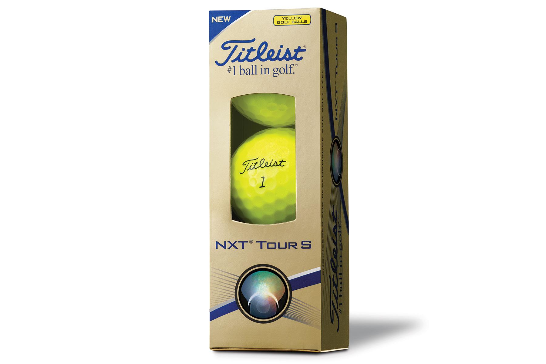 Titleist Nxt Tour S Yellow