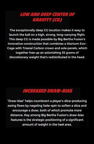 Callaway Big Bertha Fusion Info 8