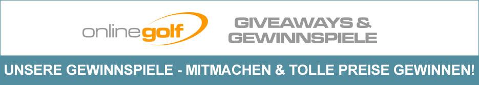 OnlineGolf Gewinnspiele - Mitmachen & tolle Preise gewinnen!
