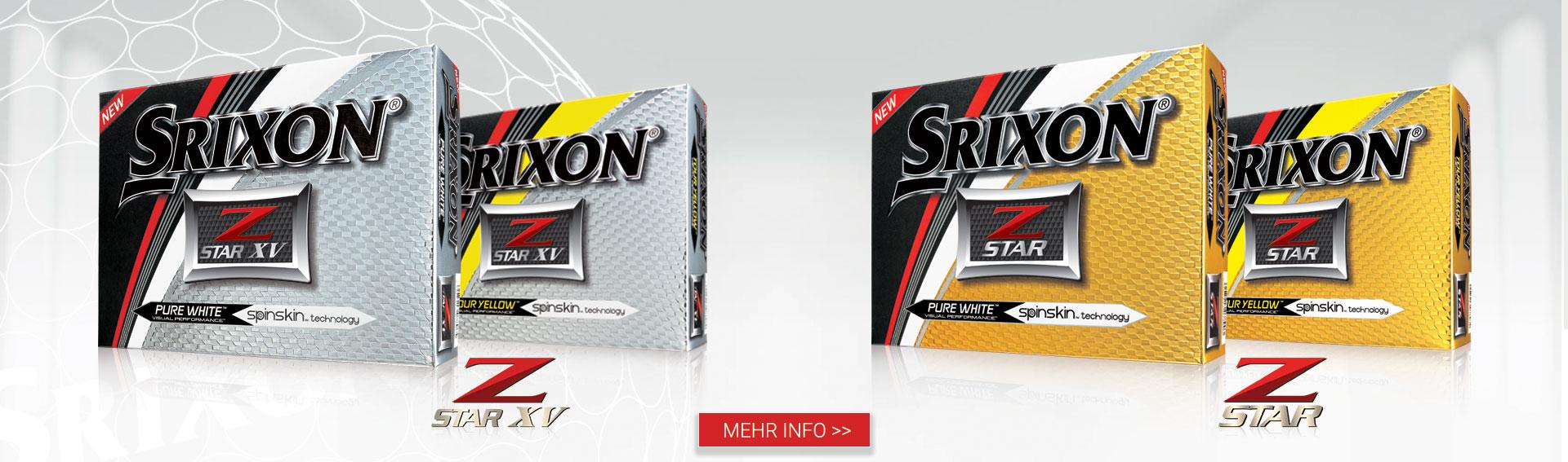 Srixon Z Star and Z Star XZ Golf Balls