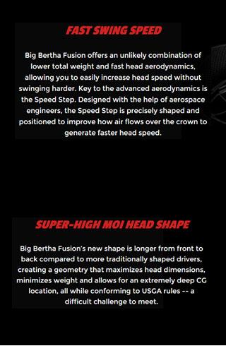Callaway Big Bertha Fusion Info 4