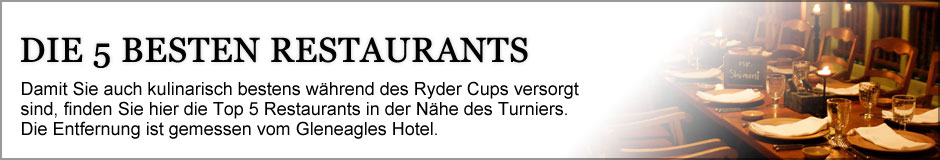 Ryder Cup 2014 - Top 5 Restaurants