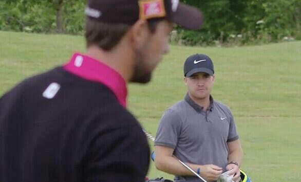 Golfer Youtube video
