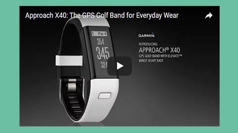 Garmin Approach X40 GPS-Band