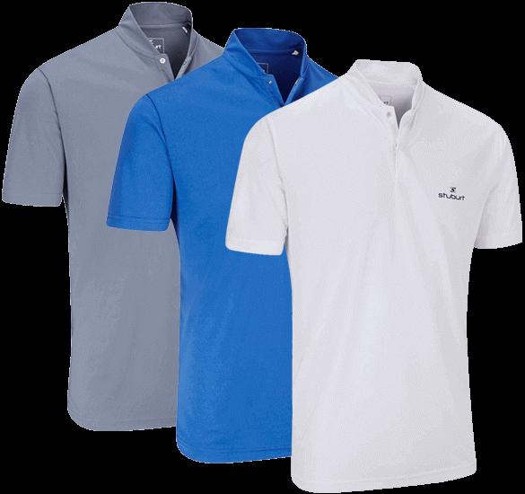 Stuburt Fashion Collar Poloshirt