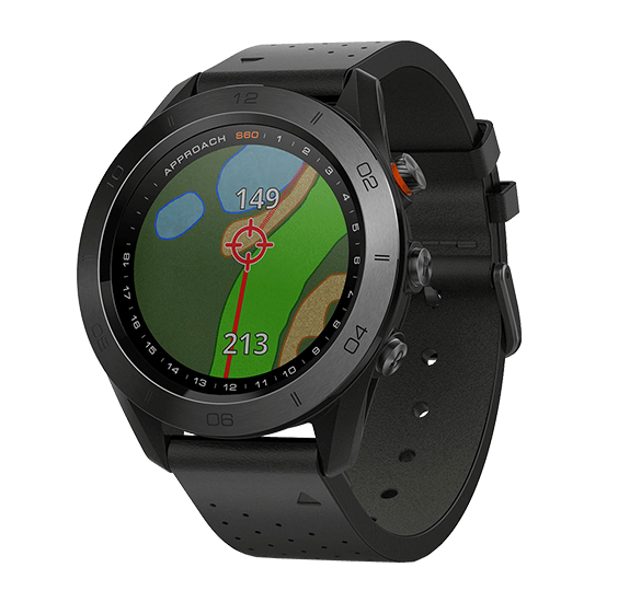 Garmin Approach S60 Premium Golf GPS-Uhr