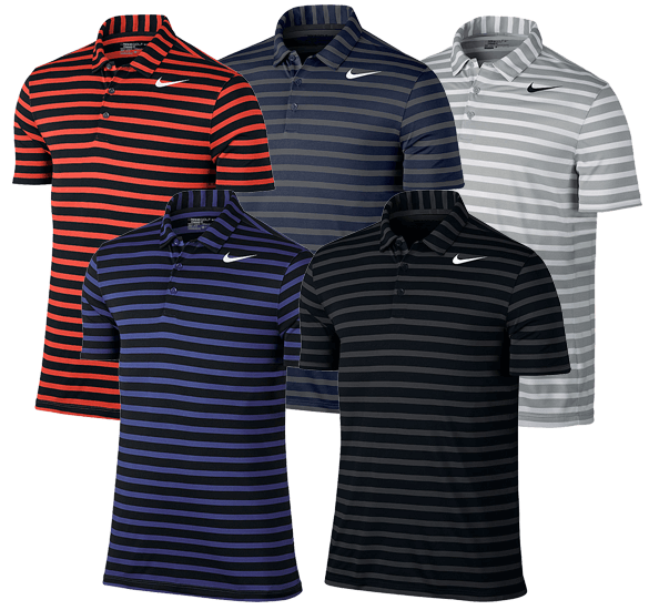 nike breathe stripe polo shirt