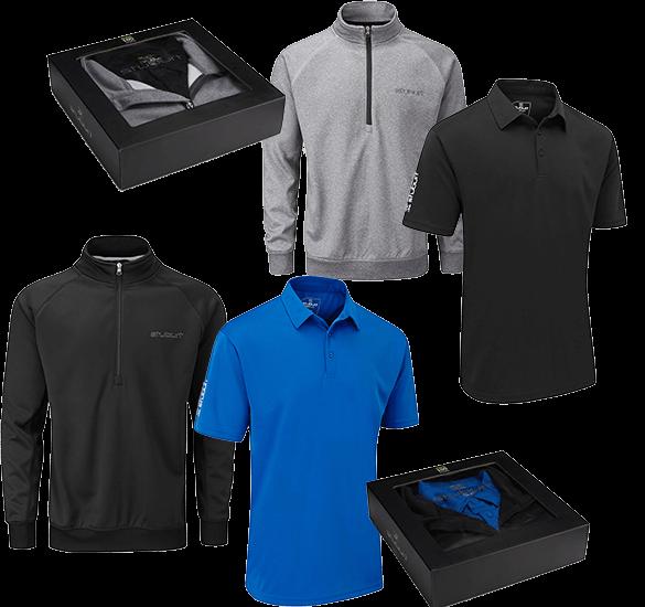 Stuburt Windtop und Poloshirt-Boxset