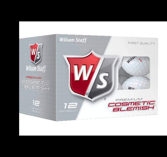 12 Wilson Staff DX2 Golfbälle mit Mängeln